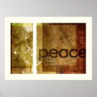 4:7 de los filipenses de la paz el | impresiones