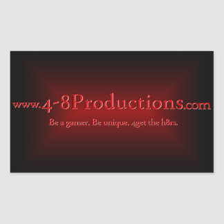 4-8Productions Sticker