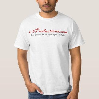 4-8T-shirt (blanco) Playera