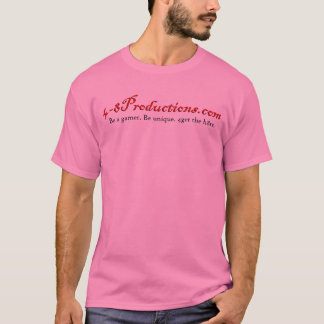 4-8T-shirt (rosa) Playera