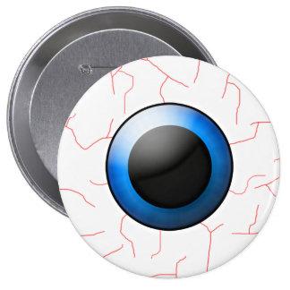 """4"""" accesorio de Halloween del botón del globo del  Pin Redondo De 4 Pulgadas"""
