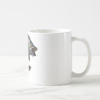 4 almizclados taza básica blanca