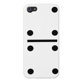4 and 4 Dominos Design case Case Savvy iPhone 5