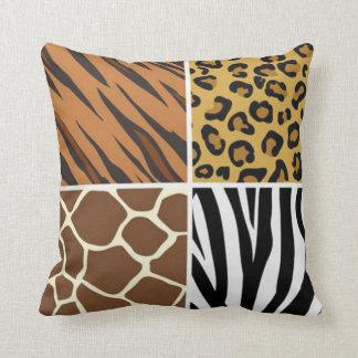 4 Animal Print Travesseiros