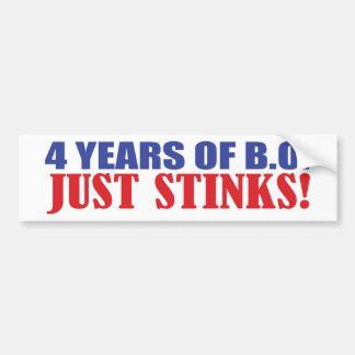 ¡4 años de hedores de BO apenas! Pegatina Para Auto
