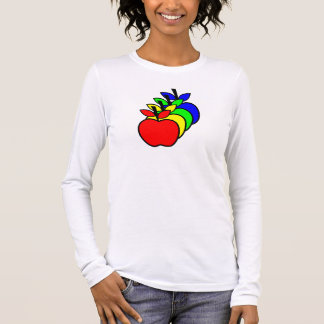 4 Apples a Day keep 4 Doctors Away Long Sleeve T-Shirt