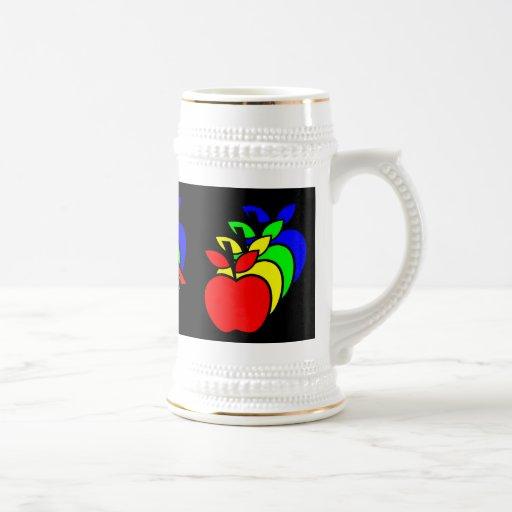 4 Apples a Day keeps 4 Doctors Away Coffee Mug