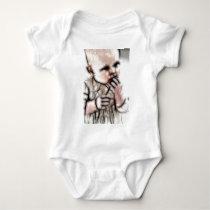 4 - Baby Dark Gear Baby Bodysuit