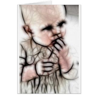 4 - Baby Dark Gear Greeting Card