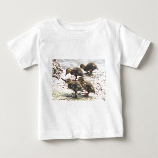 4 Baby Mallards Baby T-Shirt