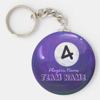 4 Ball Keychain