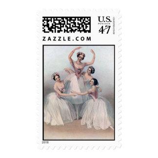 4 Ballerinas Postage
