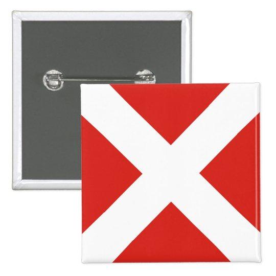 (4) bandera de señal cuatro pin cuadrado