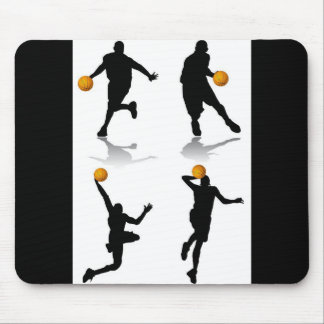 4-basketball-players mouse pad