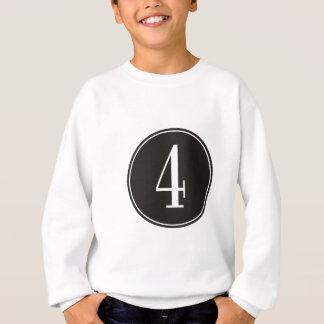 #4 Black Circle Sweatshirt