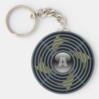 4 Blade Reversible Exhaust Fan Keychain