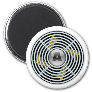 4 Blade Reversible Exhaust Fan Fridge Magnet