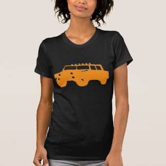 4 by 4 Orange Vehicle T Shirt