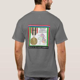 4 CAMPAIGN STARS IRAQ WAR VETERAN T-Shirt