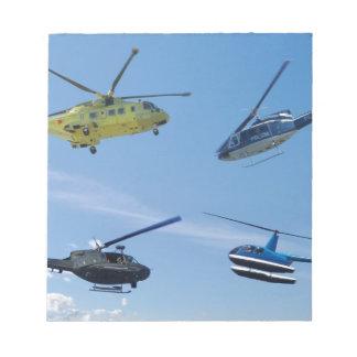 4 Chopper Note Pad