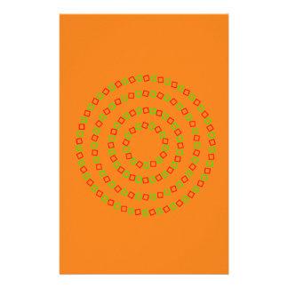 4 círculos perfectos (ilusión óptica) papeleria de diseño