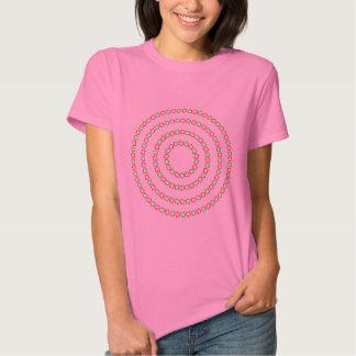 4 círculos perfectos (ilusión óptica) remera