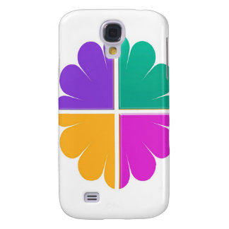 4 COLOR GRAPHIC DECORATION PRINT GALAXY S4 COVER