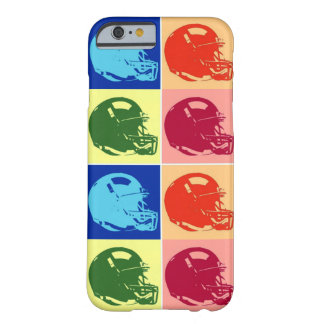 4 Color Pop Art Football Helmet iPhone 6 Case