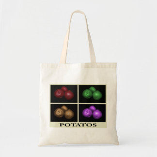 4 color potatos bag