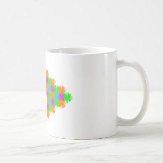 """4 Color Tess"" coffee cup Classic White Coffee Mug"