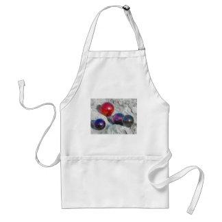 4 colorful floats adult apron