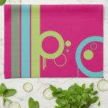 4 colors kitchen towel