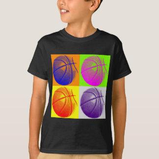 4 Colors Pop Art Basketball T-Shirt