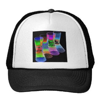 4 Coloured Cocktail Shot Glasses -Style 5 Trucker Hat