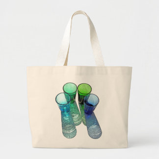 4 Coloured Cocktail Shot Glasses -Style 7 Tote Bag