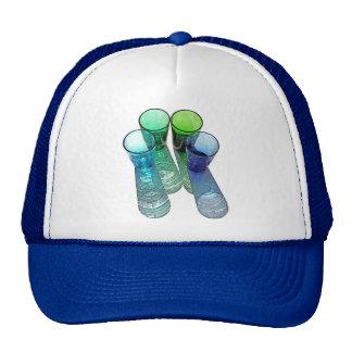4 Coloured Cocktail Shot Glasses -Style 7 Trucker Hat