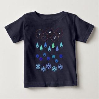 < 4 conditions (for hyperchromic area) of water > baby T-Shirt