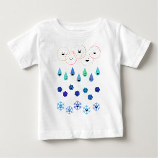< 4 conditions of water > 4 states of water baby T-Shirt