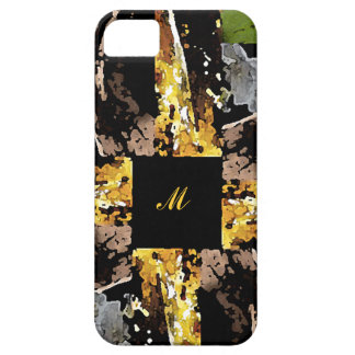 4 Corners Intial Cell Phone Case