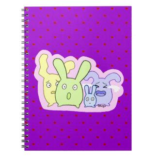4 cosas lindas T3T Spiral Notebooks