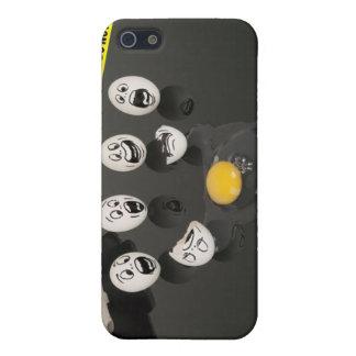 4 Crime Scene Tape Broken Egg Funny Case For iPhone SE/5/5s