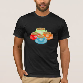 4 Cups of Coffee Mens T-Shirt