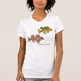 4 Cute Cartoon Fish Tee Shirts