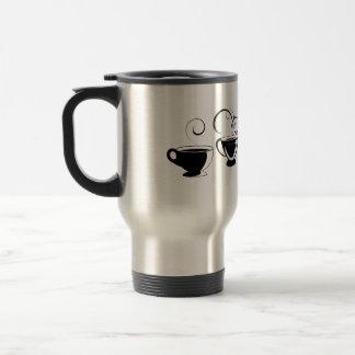 4 Cute Swirly Coffee Mugs