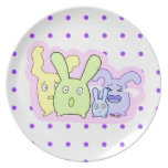 4 cute things T3T Dinner Plates