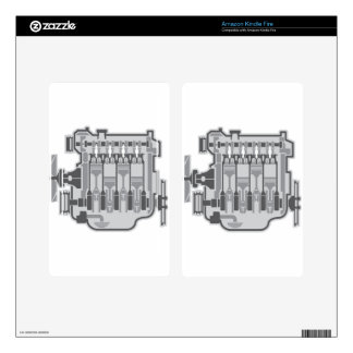 4 cylinder engine vector kindle fire decals