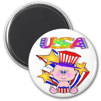 4 de julio bebé americano los E E U U Imán De Frigorifico