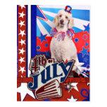 4 de julio - caniche - Lucy Postal