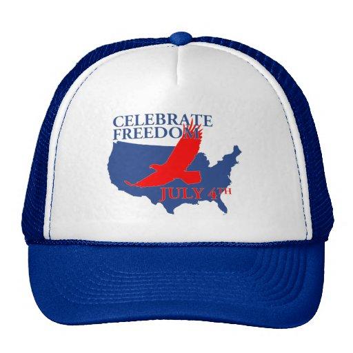 "4 de julio ""celebre gorra de la libertad"""
