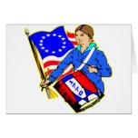 4 de julio de 1776 guerra revolucionaria para la i tarjeta